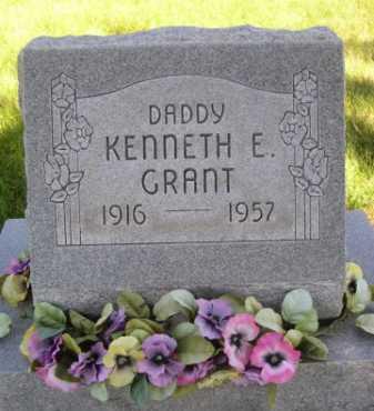 GRANT, KENNETH E. - Dawes County, Nebraska | KENNETH E. GRANT - Nebraska Gravestone Photos
