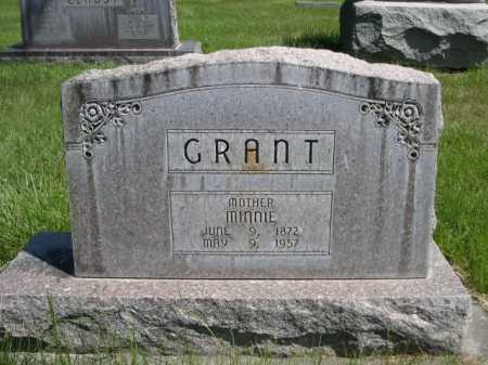 GRANT, MINNIE - Dawes County, Nebraska | MINNIE GRANT - Nebraska Gravestone Photos