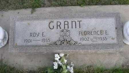 GRANT, FLORENCE E. - Dawes County, Nebraska | FLORENCE E. GRANT - Nebraska Gravestone Photos