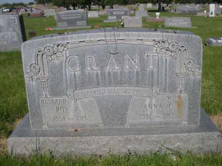 GRANT, ANNA C. - Dawes County, Nebraska | ANNA C. GRANT - Nebraska Gravestone Photos
