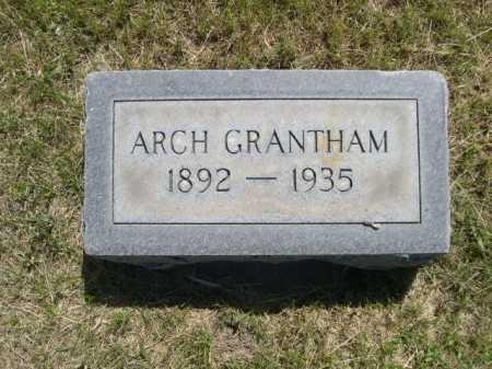 GRANTHAM, ARCH - Dawes County, Nebraska | ARCH GRANTHAM - Nebraska Gravestone Photos