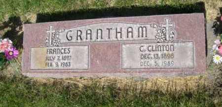 GRANTHAM, FRANCES - Dawes County, Nebraska | FRANCES GRANTHAM - Nebraska Gravestone Photos