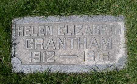 GRANTHAM, HELEN ELIZABETH - Dawes County, Nebraska | HELEN ELIZABETH GRANTHAM - Nebraska Gravestone Photos
