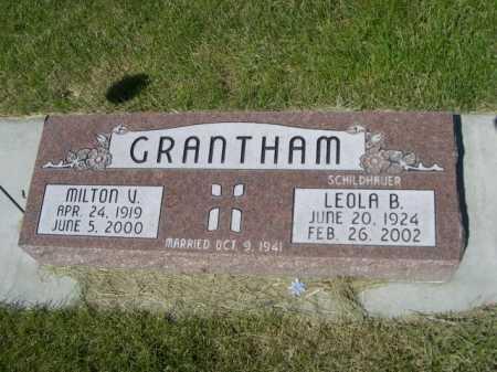 GRANTHAM, MILTON V. - Dawes County, Nebraska | MILTON V. GRANTHAM - Nebraska Gravestone Photos