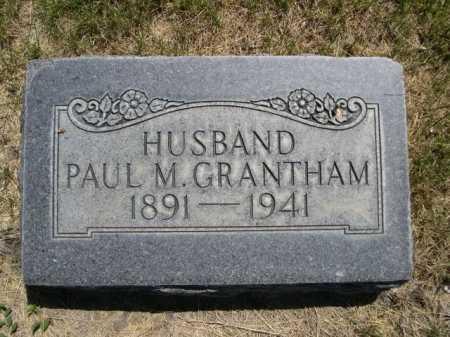 GRANTHAM, PAUL M. - Dawes County, Nebraska   PAUL M. GRANTHAM - Nebraska Gravestone Photos