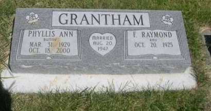 GRANTHAM, PHYLLIS ANN - Dawes County, Nebraska | PHYLLIS ANN GRANTHAM - Nebraska Gravestone Photos