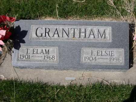 GRANTHAM, I. ELSIE - Dawes County, Nebraska   I. ELSIE GRANTHAM - Nebraska Gravestone Photos