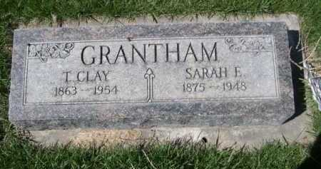 GRANTHAM, T. CLAY - Dawes County, Nebraska | T. CLAY GRANTHAM - Nebraska Gravestone Photos