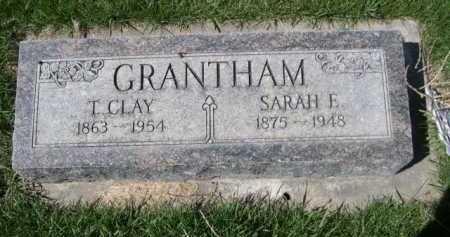 GRANTHAM, SARAH E. - Dawes County, Nebraska | SARAH E. GRANTHAM - Nebraska Gravestone Photos