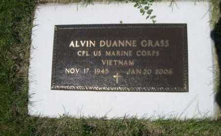 GRASS, ALVIN DUANNE - Dawes County, Nebraska   ALVIN DUANNE GRASS - Nebraska Gravestone Photos