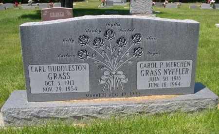 GRASS, EARL HUDDLESTON - Dawes County, Nebraska   EARL HUDDLESTON GRASS - Nebraska Gravestone Photos