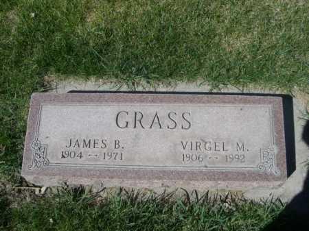 GRASS, JAMES B. - Dawes County, Nebraska | JAMES B. GRASS - Nebraska Gravestone Photos