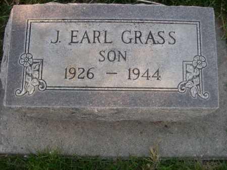 GRASS, J. EARL - Dawes County, Nebraska   J. EARL GRASS - Nebraska Gravestone Photos