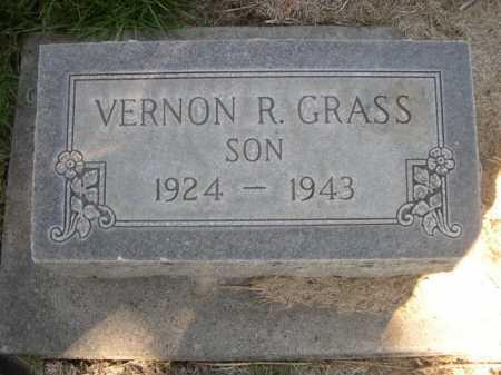 GRASS, VERNON R. - Dawes County, Nebraska | VERNON R. GRASS - Nebraska Gravestone Photos