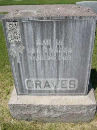 GRAVES, RAY M. - Dawes County, Nebraska | RAY M. GRAVES - Nebraska Gravestone Photos