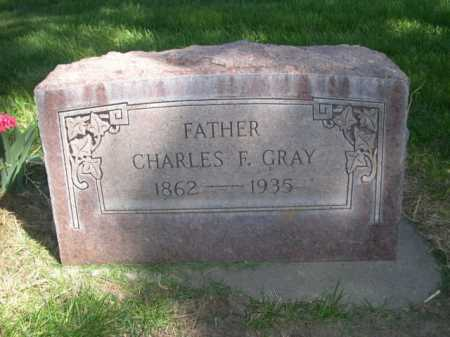 GRAY, CHARLES F. - Dawes County, Nebraska | CHARLES F. GRAY - Nebraska Gravestone Photos