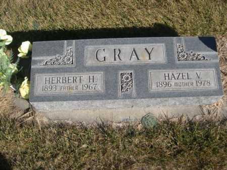 GRAY, HERBERT H. - Dawes County, Nebraska | HERBERT H. GRAY - Nebraska Gravestone Photos