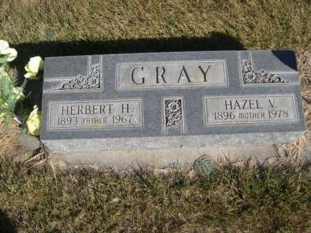 GRAY, HAZEL V. - Dawes County, Nebraska | HAZEL V. GRAY - Nebraska Gravestone Photos