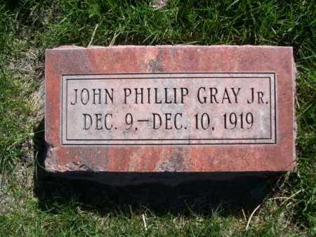 GRAY, JOHN PILLIP JR. - Dawes County, Nebraska | JOHN PILLIP JR. GRAY - Nebraska Gravestone Photos