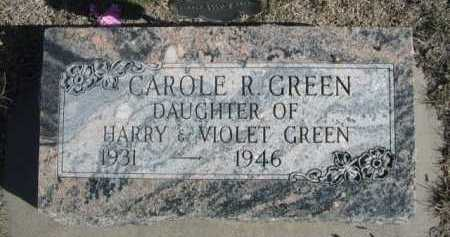 GREEN, CAROLE R. - Dawes County, Nebraska | CAROLE R. GREEN - Nebraska Gravestone Photos