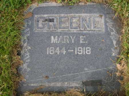 GREEN, MARY E. - Dawes County, Nebraska | MARY E. GREEN - Nebraska Gravestone Photos