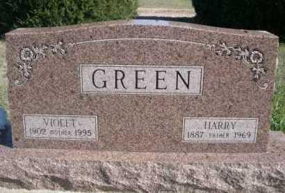 GREEN, VIOLET - Dawes County, Nebraska   VIOLET GREEN - Nebraska Gravestone Photos