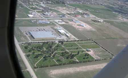 *GREENWOOD CEMETERY, BIRD'S EYE VIEW - Dawes County, Nebraska | BIRD'S EYE VIEW *GREENWOOD CEMETERY - Nebraska Gravestone Photos