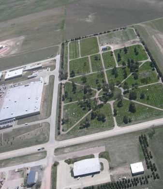 *GREENWOOD CEMETERY, BIRD'S EYE VIEW - Dawes County, Nebraska   BIRD'S EYE VIEW *GREENWOOD CEMETERY - Nebraska Gravestone Photos