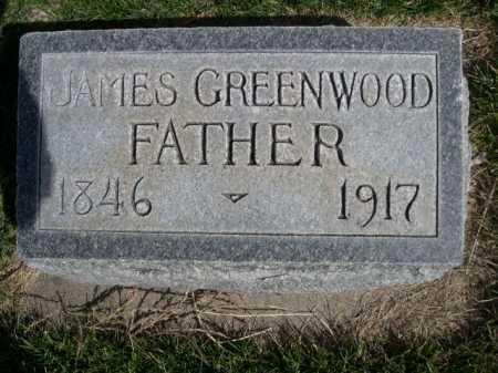 GREENWOOD, JAMES - Dawes County, Nebraska | JAMES GREENWOOD - Nebraska Gravestone Photos