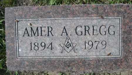 GREGG, AMER A. - Dawes County, Nebraska   AMER A. GREGG - Nebraska Gravestone Photos