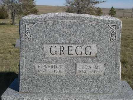 GREGG, IDA M. - Dawes County, Nebraska   IDA M. GREGG - Nebraska Gravestone Photos