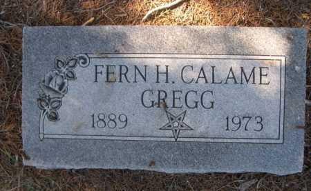 GREGG, FERN H. - Dawes County, Nebraska | FERN H. GREGG - Nebraska Gravestone Photos