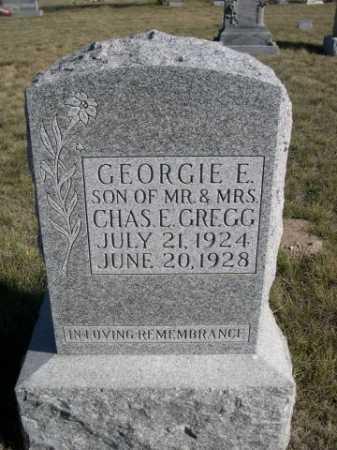 GREGG, GEORGIE E. - Dawes County, Nebraska | GEORGIE E. GREGG - Nebraska Gravestone Photos