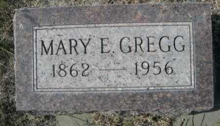 GREGG, MARY E. - Dawes County, Nebraska | MARY E. GREGG - Nebraska Gravestone Photos