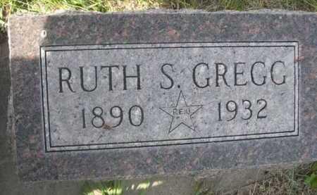 GREGG, RUTH S. - Dawes County, Nebraska   RUTH S. GREGG - Nebraska Gravestone Photos