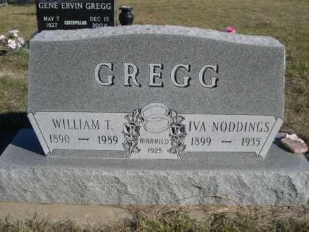 GREGG, WILLIAM T. - Dawes County, Nebraska | WILLIAM T. GREGG - Nebraska Gravestone Photos