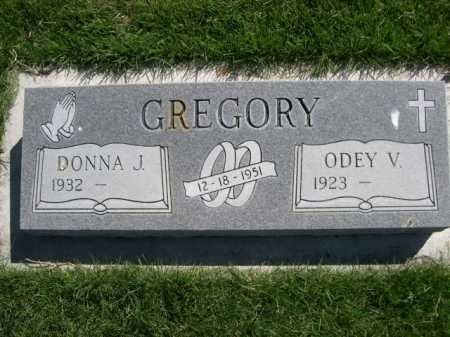 GREGORY, ODEY V. - Dawes County, Nebraska | ODEY V. GREGORY - Nebraska Gravestone Photos