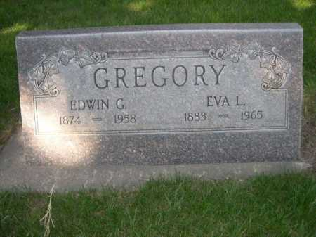 GREGORY, EDWIN G - Dawes County, Nebraska | EDWIN G GREGORY - Nebraska Gravestone Photos