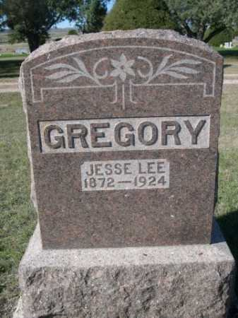 GREGORY, JESSE LEE - Dawes County, Nebraska | JESSE LEE GREGORY - Nebraska Gravestone Photos