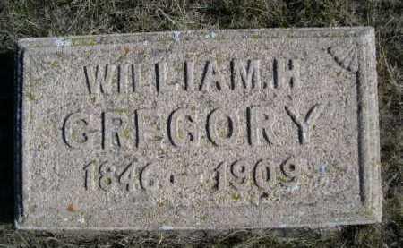 GREGORY, WILLIAM H. - Dawes County, Nebraska | WILLIAM H. GREGORY - Nebraska Gravestone Photos