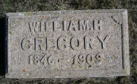 GREGORY, WILLIAM H. - Dawes County, Nebraska | WILLIAM H. GREGORY - Nebraska Gravestone Photos