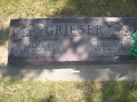 GRIESER, DELMA I. - Dawes County, Nebraska | DELMA I. GRIESER - Nebraska Gravestone Photos