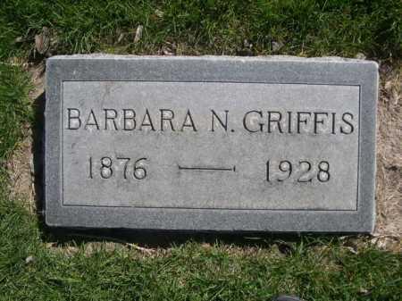 GRIFFIS, BARBARA N. - Dawes County, Nebraska | BARBARA N. GRIFFIS - Nebraska Gravestone Photos