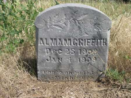 GRIFFITH, ALMAM - Dawes County, Nebraska | ALMAM GRIFFITH - Nebraska Gravestone Photos