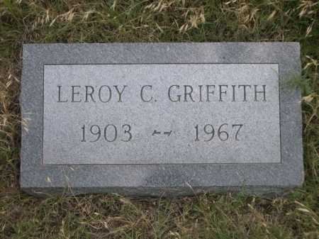 GRIFFITH, LEROY C. - Dawes County, Nebraska | LEROY C. GRIFFITH - Nebraska Gravestone Photos