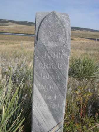 CRILE, JOHN - Dawes County, Nebraska | JOHN CRILE - Nebraska Gravestone Photos