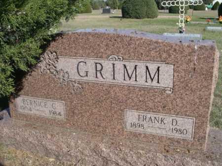 GRIMM, BERNICE C. - Dawes County, Nebraska | BERNICE C. GRIMM - Nebraska Gravestone Photos