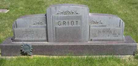 GRIOT, FLORENCE H. - Dawes County, Nebraska | FLORENCE H. GRIOT - Nebraska Gravestone Photos