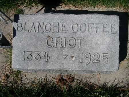GRIOT, BLANCHE - Dawes County, Nebraska | BLANCHE GRIOT - Nebraska Gravestone Photos