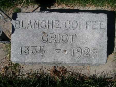 COFFEE GRIOT, BLANCHE - Dawes County, Nebraska | BLANCHE COFFEE GRIOT - Nebraska Gravestone Photos
